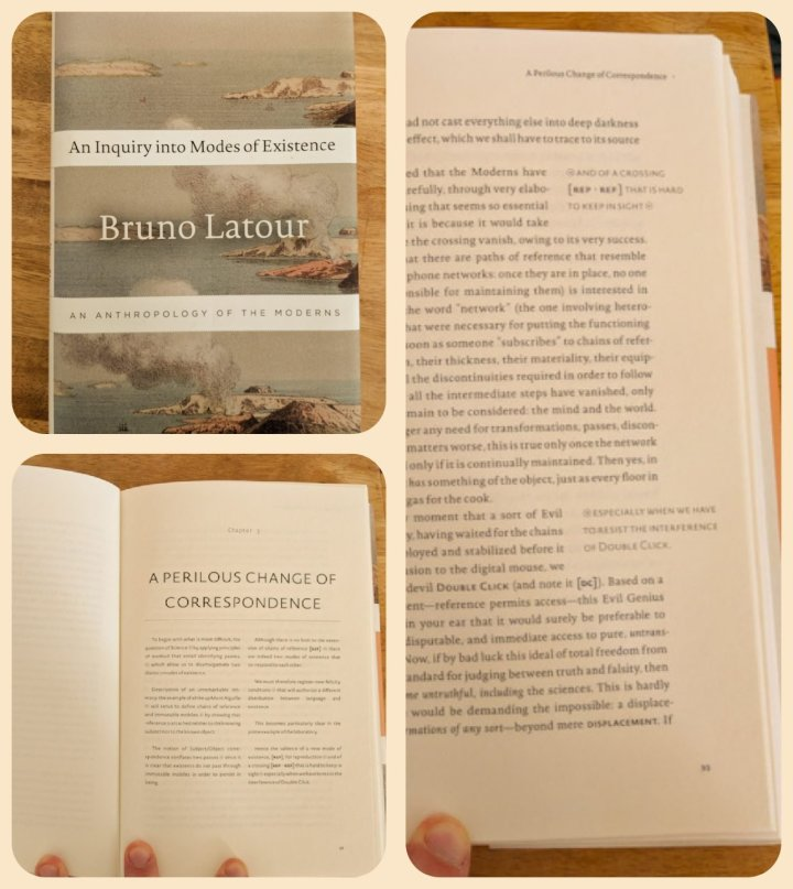 An Inquiry into Modes of Existence by Bruno Latour, 2013.