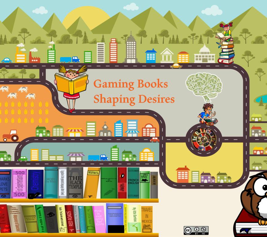 gaming books shaping desires
