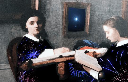 The Two Sisters, Henri Fantin-Latour (1859).